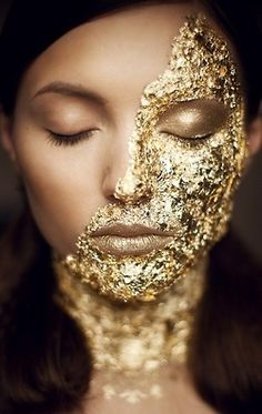gold-face