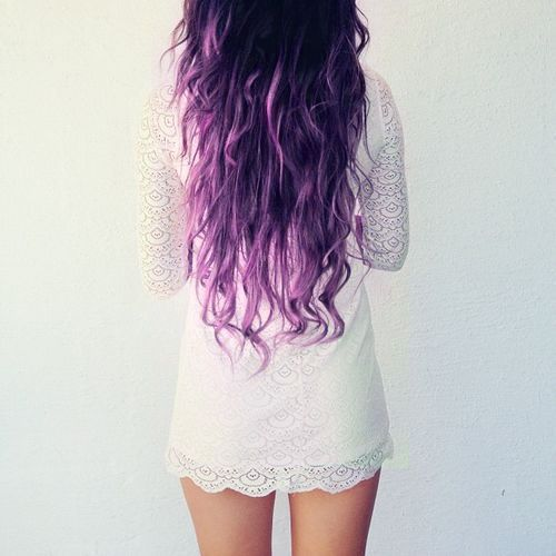 long-hair-purple-ombre
