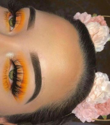 orange-eye-shadow